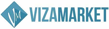 оформить визу, сделать страховку, и найти работу за границей логотип VizaMarket фото