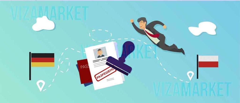 Как работать в Германии по польской визе, или легализация А1
