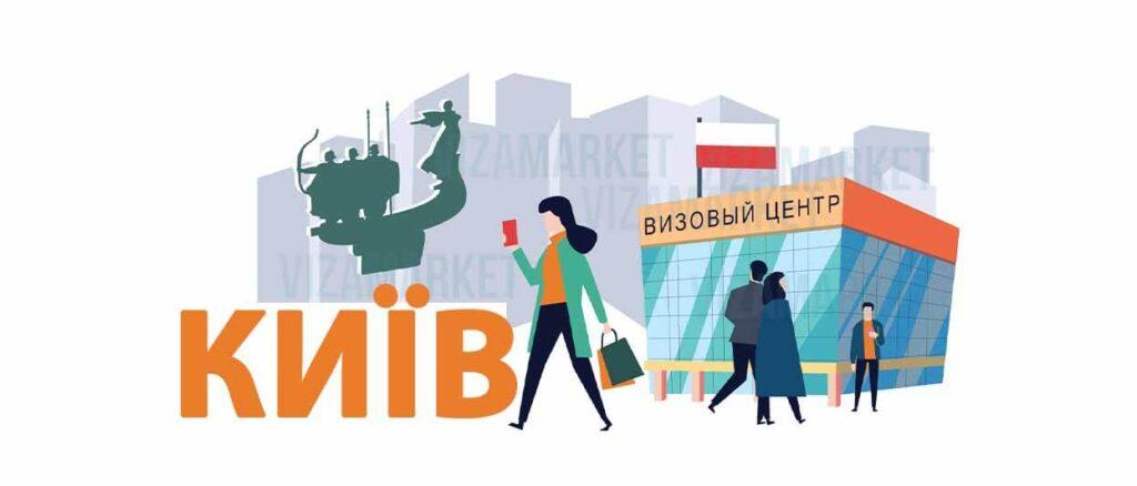 все про польський візовий центр Києва фото