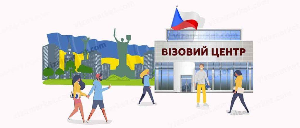 адреса, контакти, графік роботи візового центру Чехії