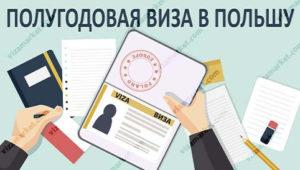 полугодовая виза в Польшу цена и что надо знать
