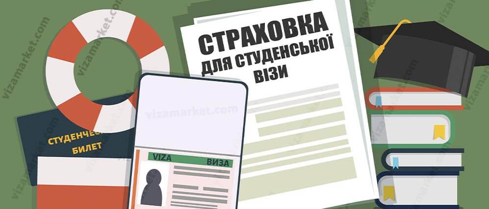 стаття про студентську страховку для візи до Польщі на 2021 рік